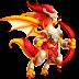 Dragón Virago de Fuego   Fire Virago Dragon