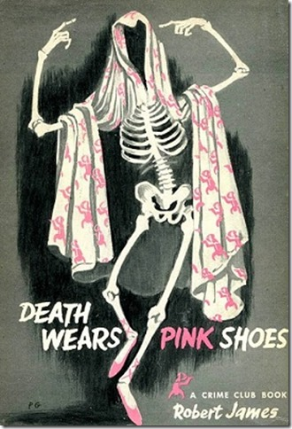 Death Wears Pink shoes