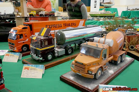 Weathered Cement Mixer, Tanker and semi trailer