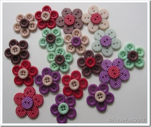 button flower pin brooches 1