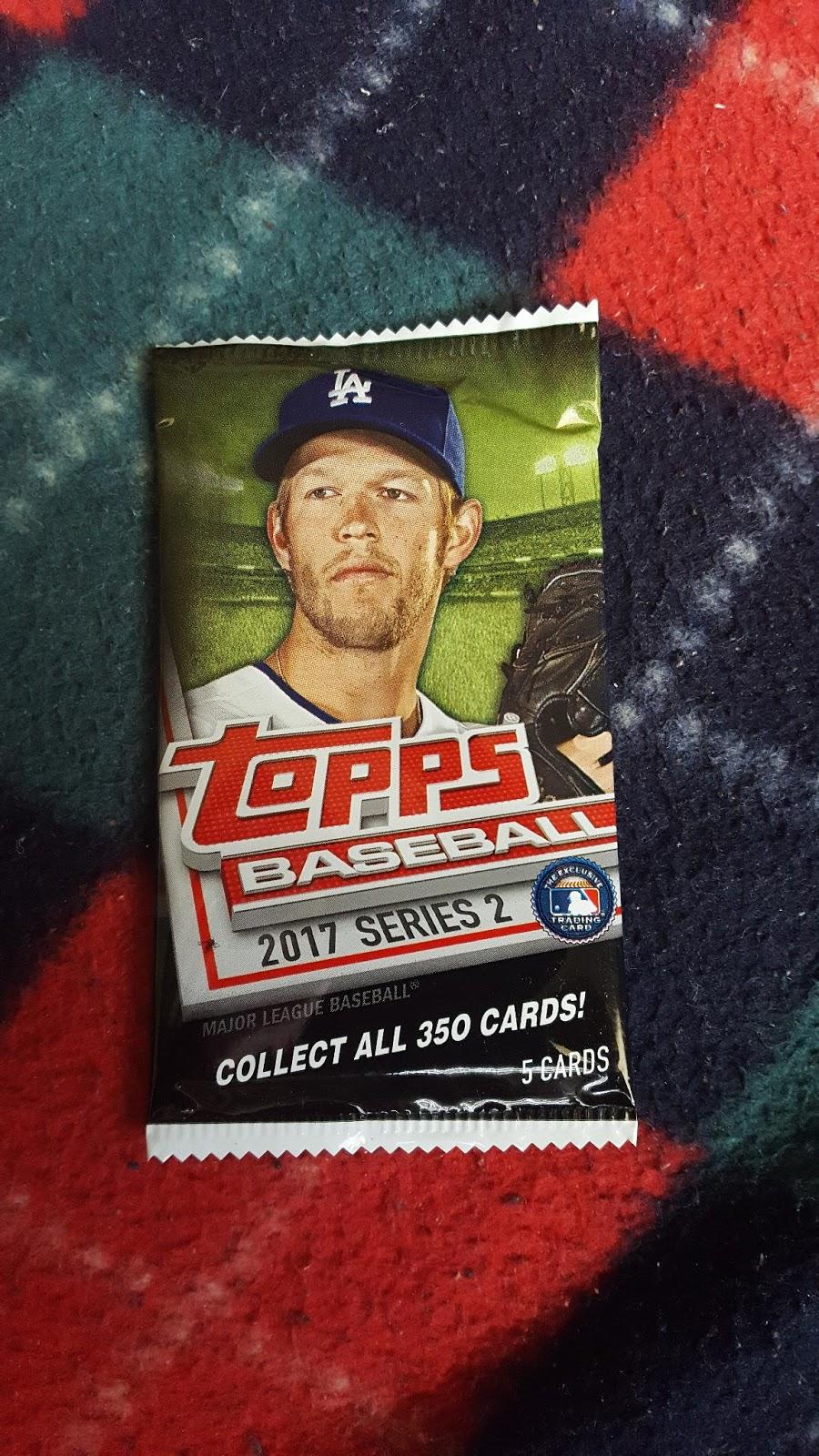 Bdj610s Topps Baseball Card Blog A Dollar Tree Pack Of 2017 Topps