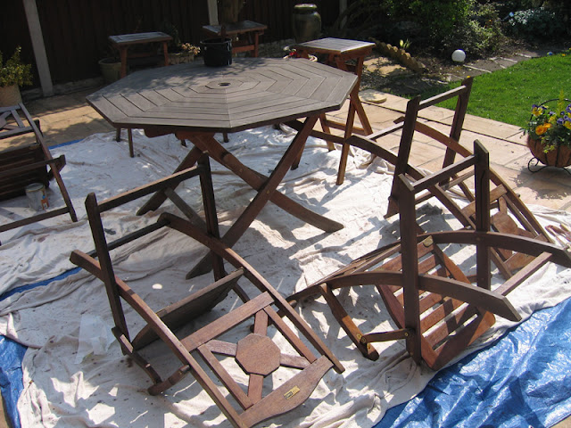 Garden furniture upcycling,  Why buy new when we can make your existing furniture as good as new!!