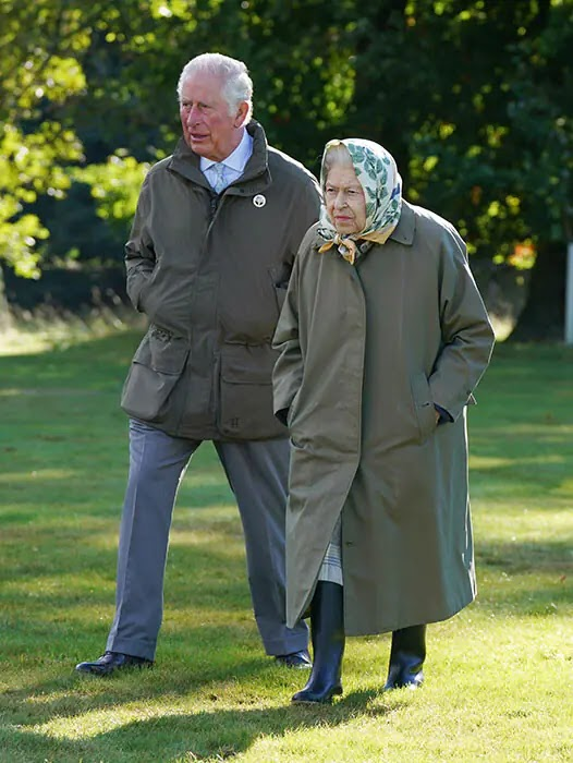 The Queen and Prince Charles carry out Mother-Son Engagement at Balmoral