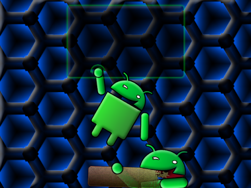 Blue Full Screen Dock Chomp 640x480 Android wallpaper by eyebeam