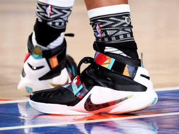Jahlil Okafor Wears BHM Soldier 9 PE on MLK Day