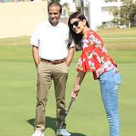 Kajal Agarwal at Cancer Crusaders Invitation Cup at Hyderabad Golf Club (7).JPG