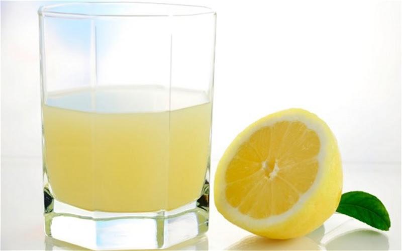 Lemon Juice in a glass