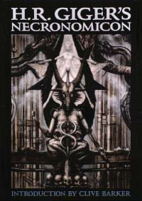 Cover of Hans Rudolf Giger's Book Necronomicon Dali Edition