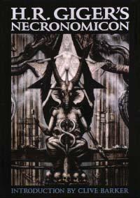 Cover of Hans Rudolf Giger's Book Necronomicon Dali Edition
