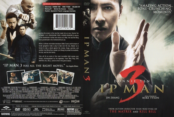 Dragon Master (Ip Man 3) – Castellano, Cantonés – DVD9