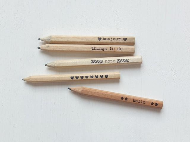 audrey jeanne blog diy customiser les petits crayons