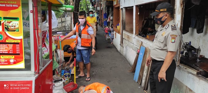Tiga Pilar Tambora Jakarta Barat Melaksanakan Operasi Yustisi di Tiga Lokasi Berbeda