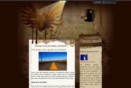 Mientras Cae La Noche en AltaBloggers: Directorio de Blogs para Bloggers