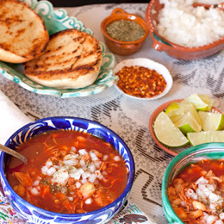 Red Pork and Hominy Stew (Pozole Rojo)
