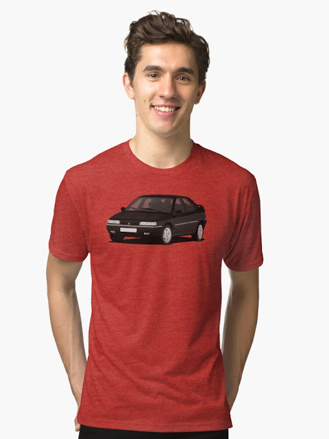 Citroën Xantia shirt - black