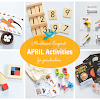 Montessori Inspired April Activities for Preschoolers