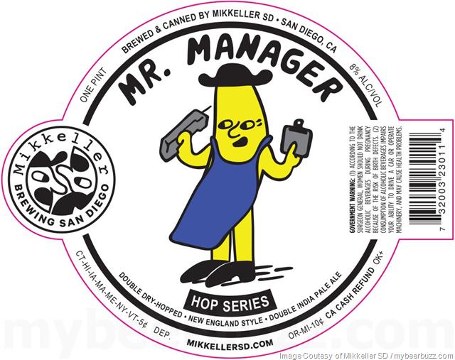 Mikkeller San Diego Adding Mr. Manager To Hop Series CansMikkeller San Diego Adding Mr. Manager To Hop Series Cans