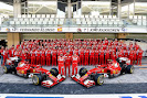 Complete 2014 Ferrari F1 race team