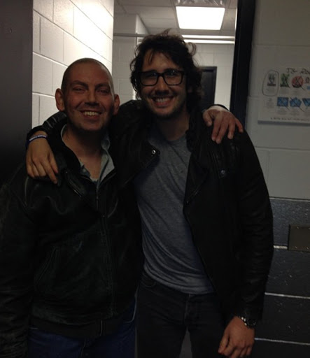 Geno with Josh Groban
