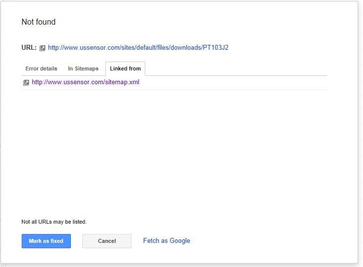 xml sitemap crawl errors google product forums