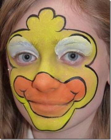 maquillaje de pato