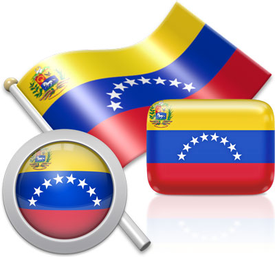 Venezuelan flag icons pictures collection