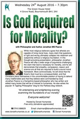 Is God Required for Morality 24 August 2016