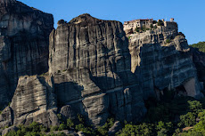Incredible walls of Meteora