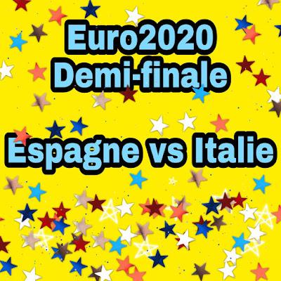 Chaines pour regarder demi finale de la coupe d'Europe ou EURO2020 entre Espagne et Italie en direct