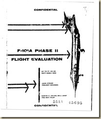 Aviation Archives: F-101A Phase II Flight Evaluation