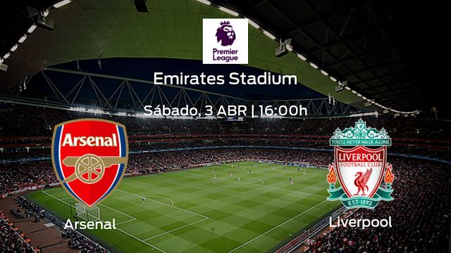 Watch Live Stream Match: Arsenal vs Liverpool (EPL)