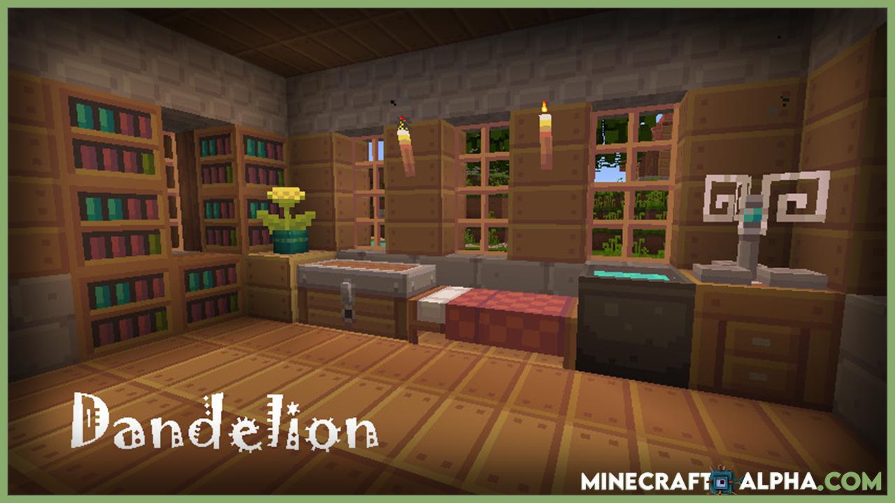 New Dandelion Minecraft