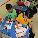 Card Making Competition (Grade I to IV) 17.08.2016