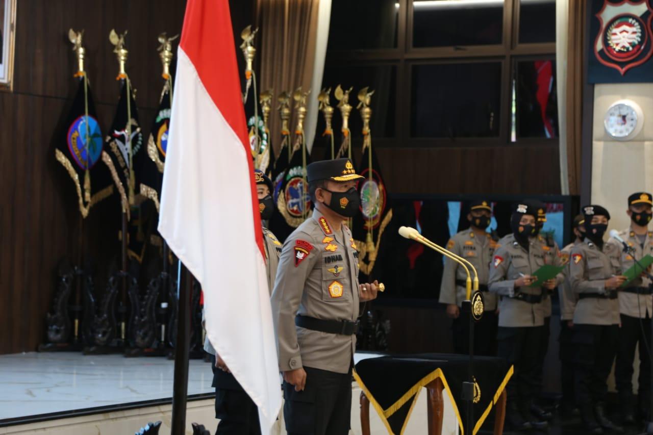 Kapolri Jenderal Idham Azis Pimpin Korps Raport 46 Pati Polri