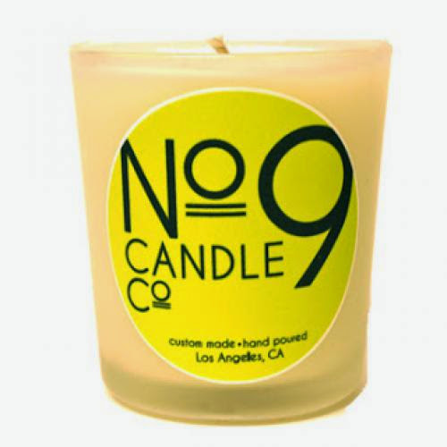 No 9 Candle Co Rosewood 100 Soy Candle