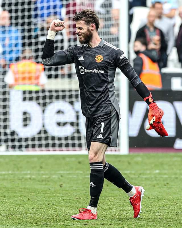 David de Gea had conceded 40 consecutive penalties