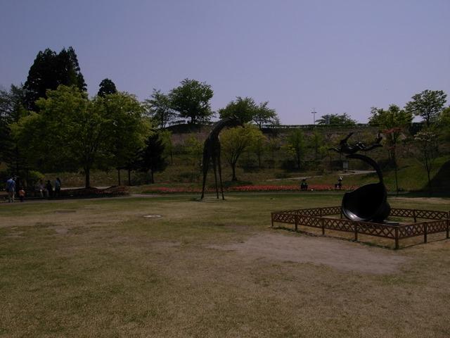 秋田県立近代美術館彫刻