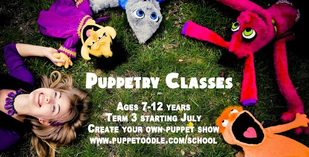 New Puppetry classes for 2016