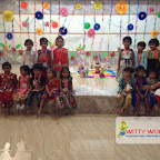 Dusshera Celebration of Nursery Evening Section at Witty World, Chikoowadi 2017-18