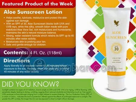 Kem chống nắng lô hội Aloe Sunscreen mã số 199
