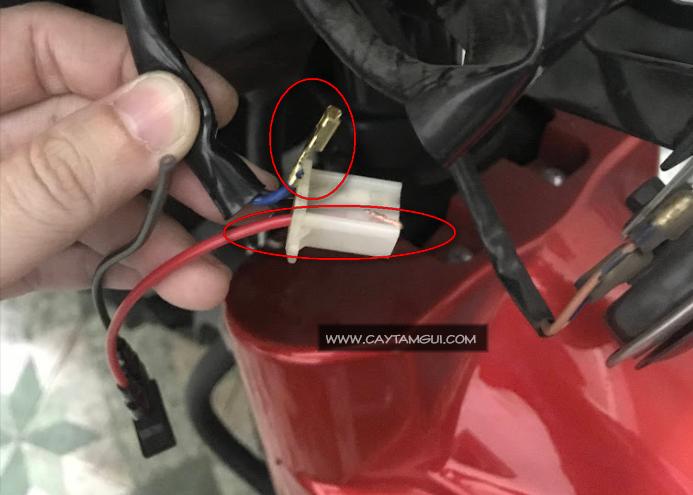 Hướng dẫn chuyển đèn demi từ điện máy sang điện bình có công tắc On/Off trên xe Jupiter Fi