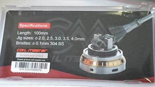 DSC 2465 thumb%25255B2%25255D - 【小物/ビルド】「Coilmaster Vape Brush(コイルマスター ブラシ付きコイルジグ)」レビュー。ドライバーン時のガンク除去+コイルジグの便利優れものビルド小道具!
