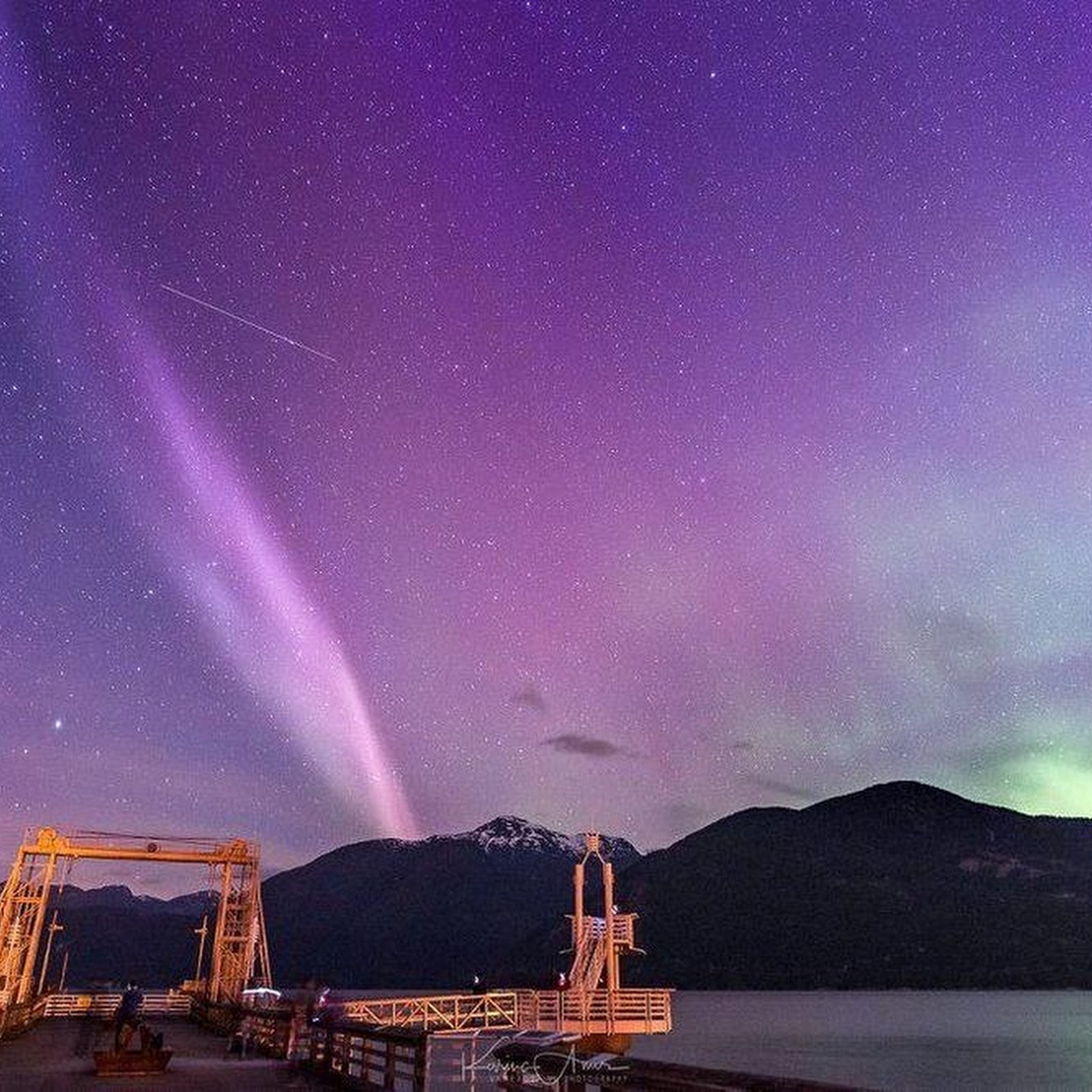 A New Atmospheric Phenomenon Called Steve