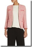 Max Mara Weekend Pink Tweed Jacket
