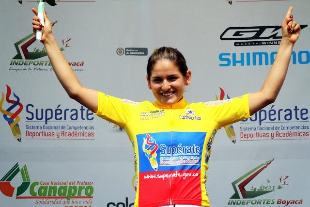 Serika Gulumá. De padre ciclista y tía ciclomontañista, Gulumá, oriunda de Puerto Rico, Caquetá, considera que el ciclismo lo lleva en la sangre. La joven trabaja con el equipo italiano Vaiano.