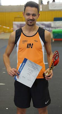 Manuel Marko (MTV 1881 Ingolstadt) - Erster mit übersprungenen 2,13 m Persönliche BestleistungFoto: M. Neumann