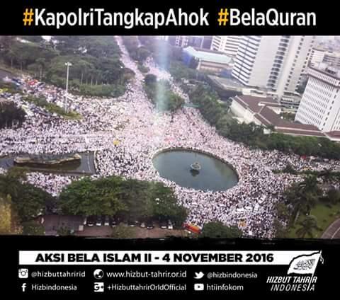 Alhamdulillah, Kita Acungkan Jempol! Demo Jakarta Berjalan Damai