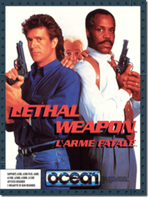 Letal Weapon Amiga Cover