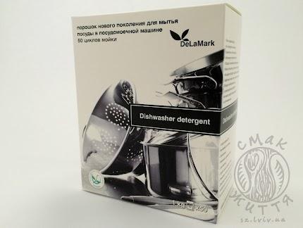 Засіб для миття посуду в посудомийних машинах (1 кг) (Деламарк)