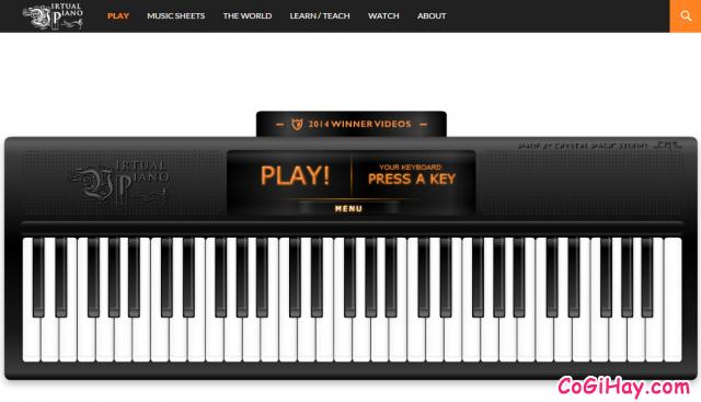 Bàn phím đàn Piano